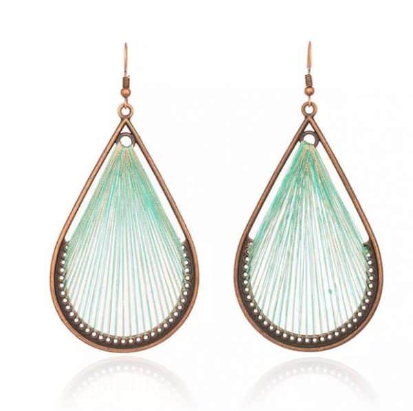 FANFARE Earrings Natural Bead 4