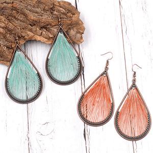 FANFARE Earrings Natural Bead 3
