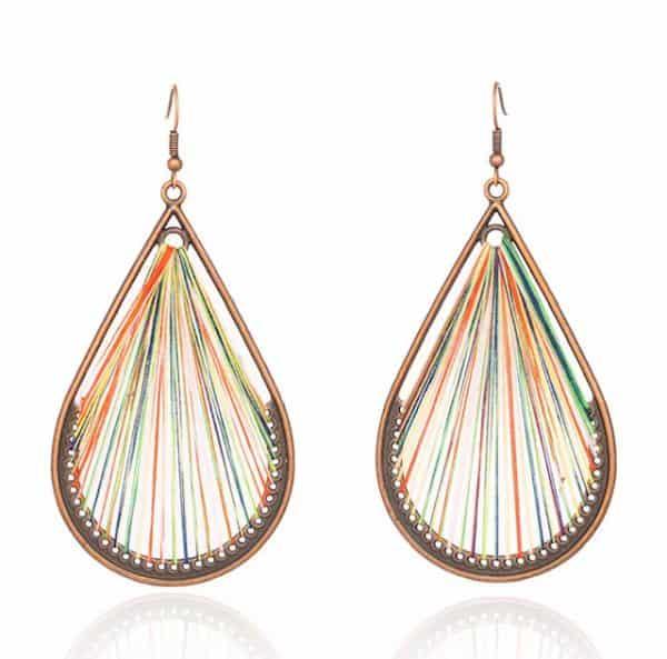 FANFARE Earrings Natural Bead 10