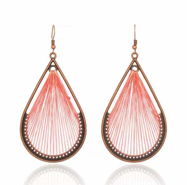 FANFARE Earrings Natural Bead 9