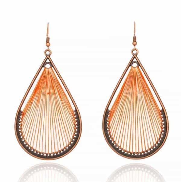 FANFARE Earrings Natural Bead 6