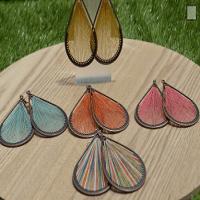 FANFARE Earrings Natural Bead 2