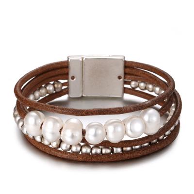 BILLIE Cuff Bracelet - Brown 4