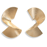 Twist Earrings Gold