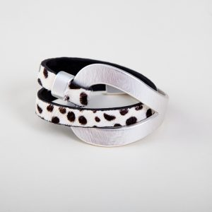 Anastasia Leather Wrap Bracelet