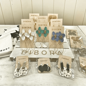 DIBORA Earring Starter Kit with FREE DIBORA Wooden Display Board and FREE DIBORA Gift Pouches 1