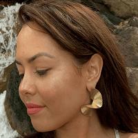 Twist Earrings Gold