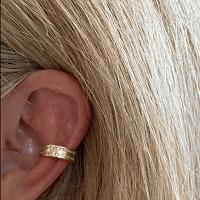 Ear Cuffs Gold Diamonte (2 cuffs one diamonte, one plain) 2