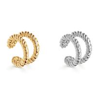 Ear Cuffs double twist (1 pair - 1 gold / 1 silver) 1