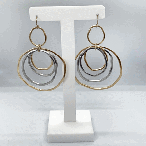 NIKKI Drop Earrings - Silver 2