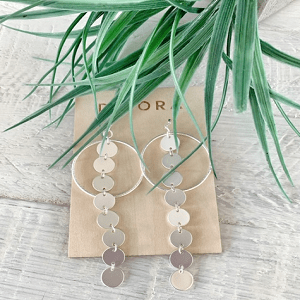 CHARLOTTE Drop Earrings - 4 Colour Options 1