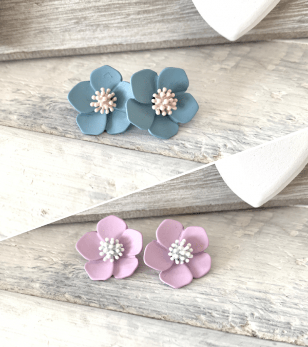 ASTER Stud Earrings - 9 Colour Options 4