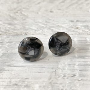 Cabochon Stud Earrings 1