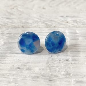 Cabochon Stud Earrings 4