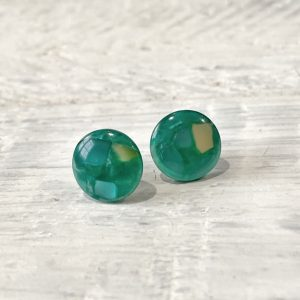 Cabochon Stud Earrings 6