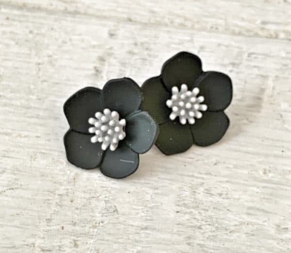ASTER Stud Earrings - 9 Colour Options 10