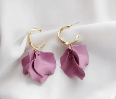 GABRIELLA Earrings - Gold - 19 Colour Options 1