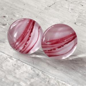 Cabochon Stud Earrings 5