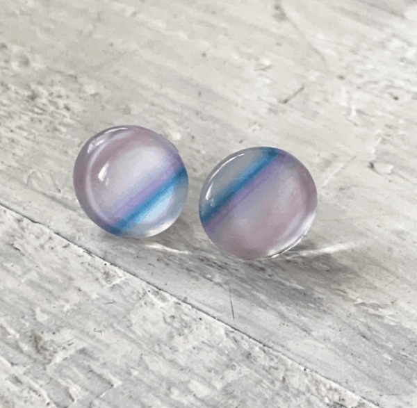 Cabochon Glass Stud Earrings - Animal 3 27