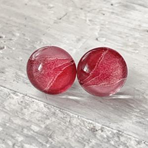 Cabochon Stud Earrings 4