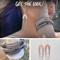 SERENITY Earrings - Rose Gold 3
