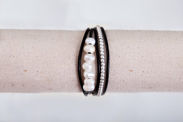 BILLIE Cuff Bracelet - Black 4