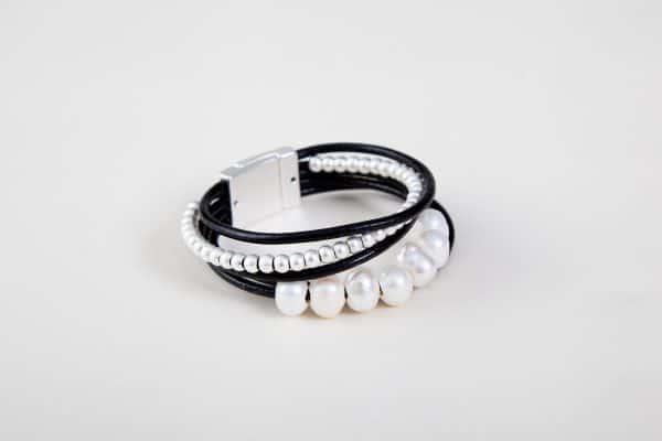 BILLIE Cuff Bracelet - Black 2