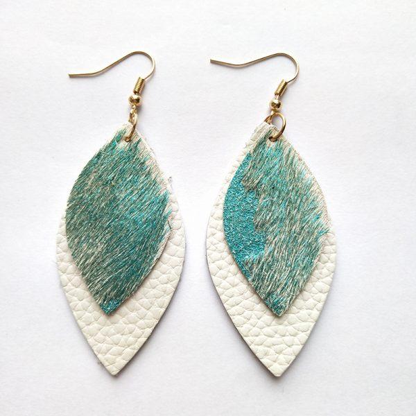 Saffron Earrings Jade