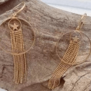 Imogen Hook Earrings Gold