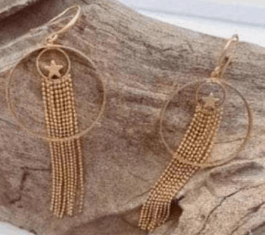 Imogen Hook Earrings Gold