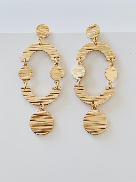 Indiana Earrings Gold