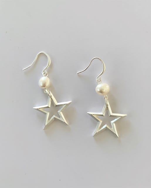 Audrey Earrings Sllver