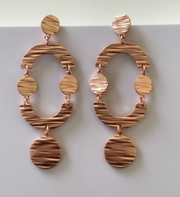 Indiana Earrings Rose Gold