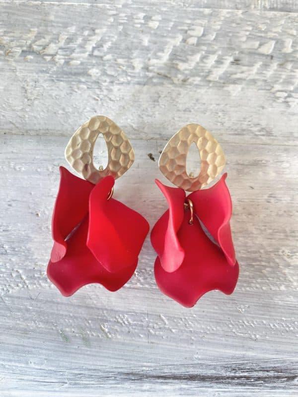 Isabella Earrings Rouge