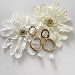 dibora Earrings with Freshwater Pearls