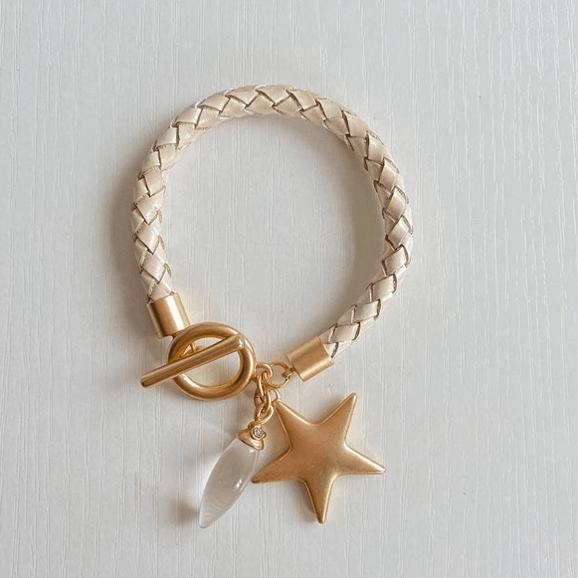 Seren Leather Bracelet