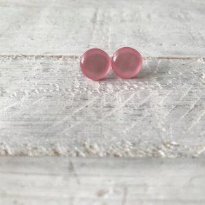 Cabochon Stud Earrings 2