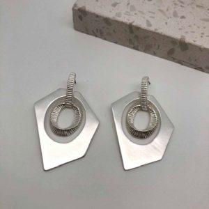 Addison Earrings Silver