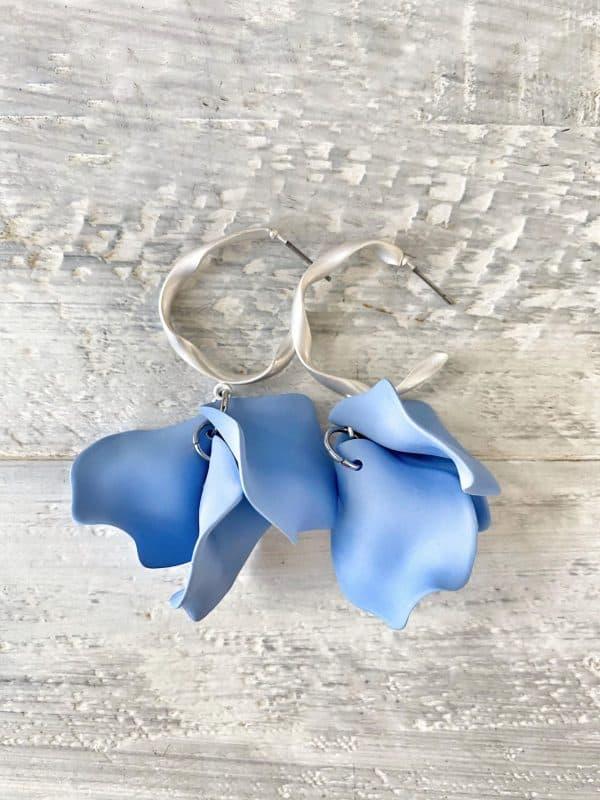 GABRIELLA Earrings - Silver - 19 Colour Options 1